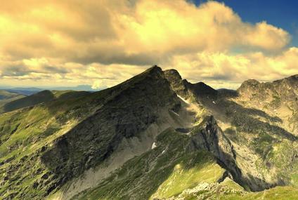 טרק בהרי הקרפטים, רומניה